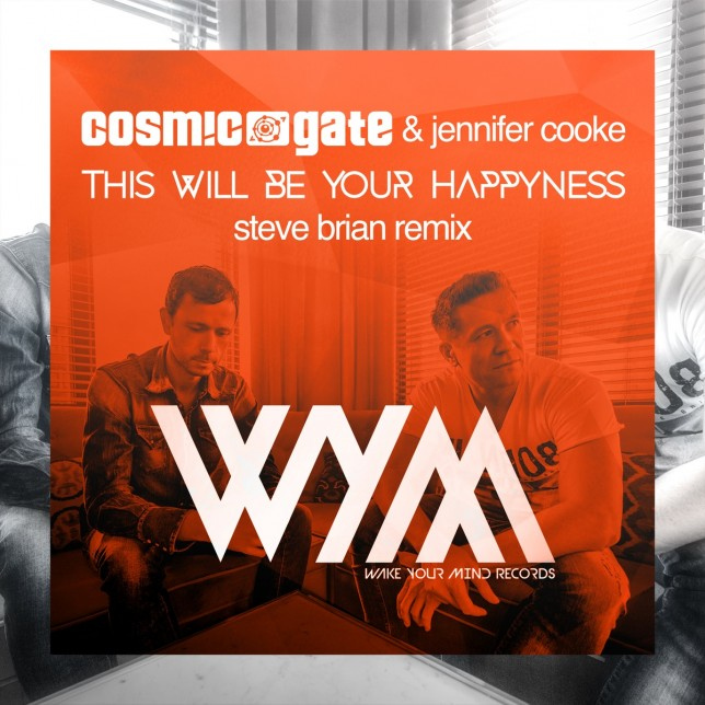Cosmic Gate & Jennifer Cooke - This Will Be Your Happyness (Steve Brian Remix)