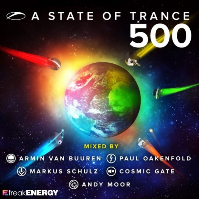 Cosmic Gate - A State Of Trance 500