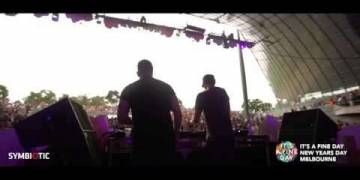 Cosmic Gate @ It's A Fine Day, Melbourne 2017 (Fall Into You)