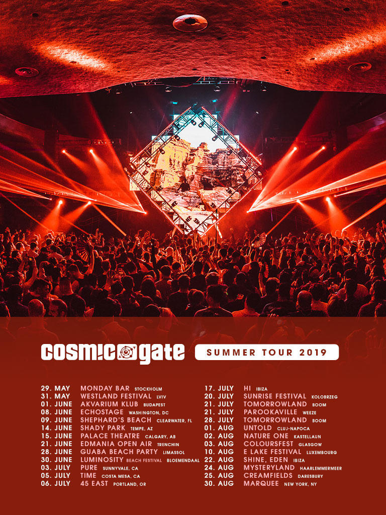 Cosmic Gate - Official website