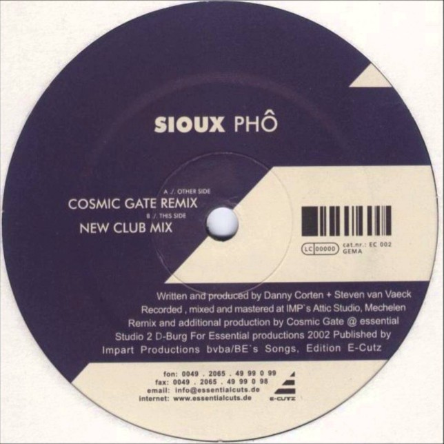 Sioux - Pho (Cosmic Gate Remix)