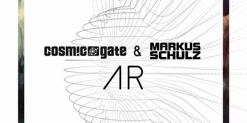 "new single ""AR"" with Markus Schulz"