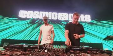Cosmic Gate live at Sziget Festival Budapest 2017