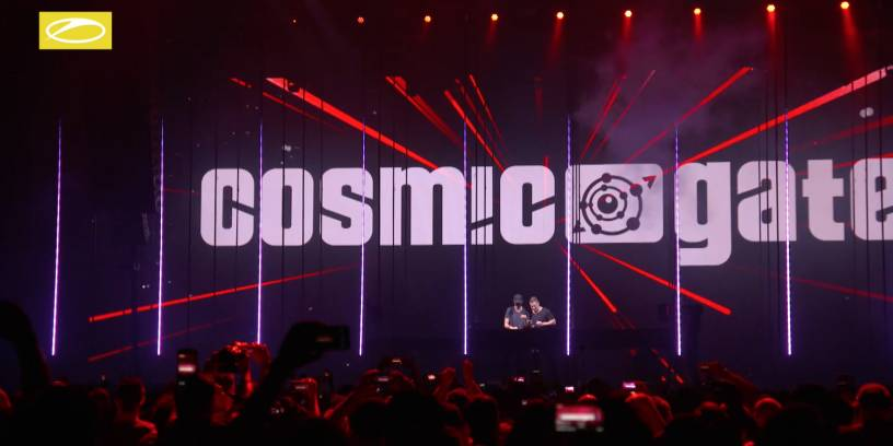 Cosmic Gate live at ASOT ADE Special 2017