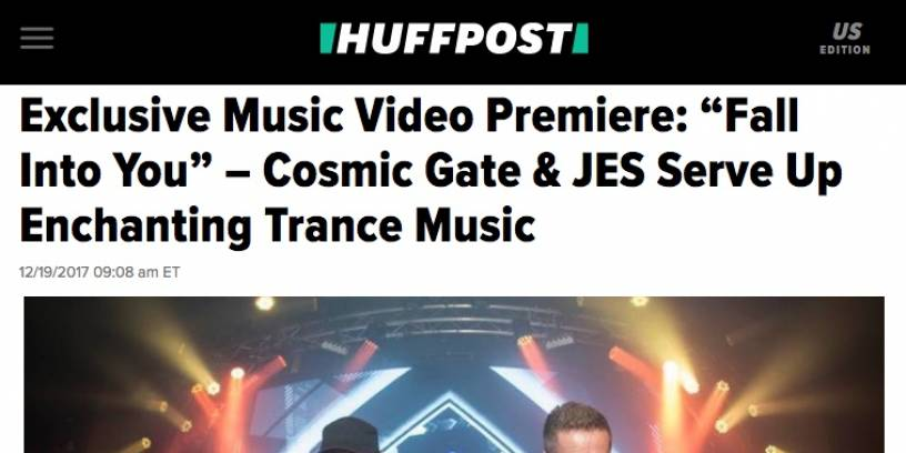 "Huffington Post Exclusive ""Fall Into You"" Video Premiere"