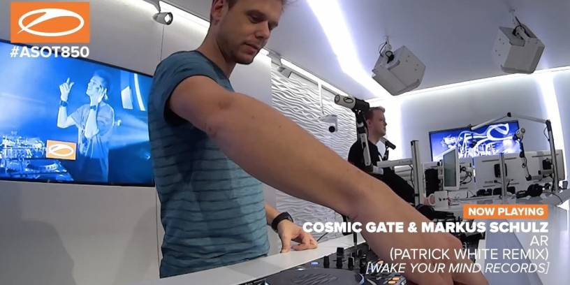 AR (Patrick White Remix) played on ASOT 850