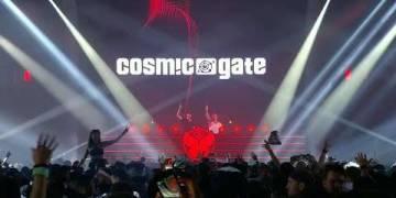 Cosmic Gate live at Tomorrowland 2018